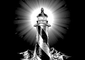 Zodiac Aquarius - Lighthouse